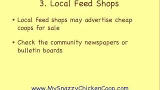 Cheap Chicken Coops For Sale (5 Tips For Getting A Coop For Cheap)