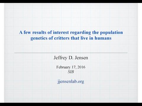 Jeffrey Jensen: The population genetics of adaptation