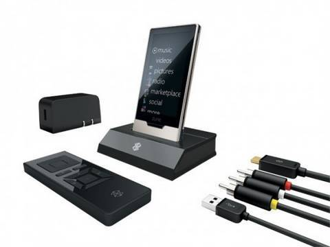 Zune HD Home Dock Unboxing