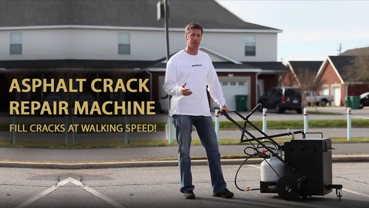 crack sealing machine rental