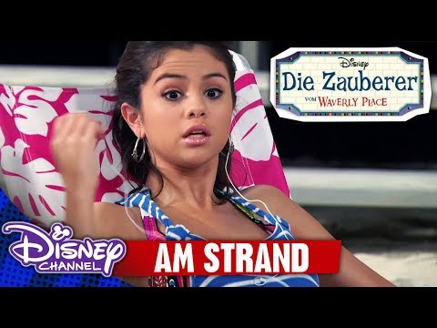 Die Zauberer vom Waverly Place - Clip: Am Strand | Disney Channel