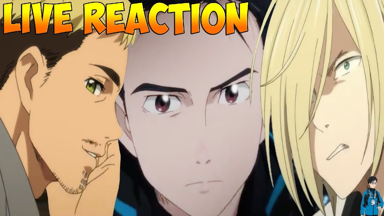 Yuri on Ice Episode 10 LIVE Reaction MARRIAGE PROPOSAL