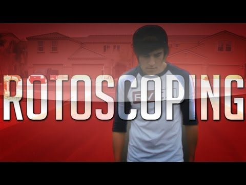Rotoscoping/Rotobrushing - All Files Included | After Effects CS6 Tutorial