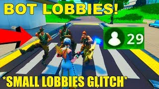Cómo entrar en *BOT LOBBIES* en Fortnite Temporada 10! Fortnite Pequeño Lobby Glitch Temporada 10!