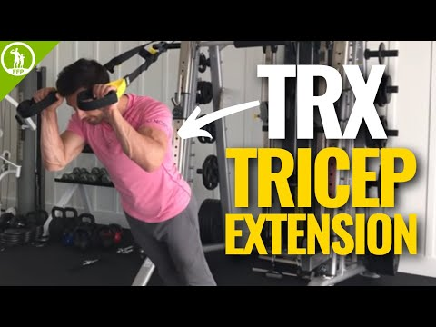 TRX Tricep Extension — Best Bodyweight Triceps Exercise