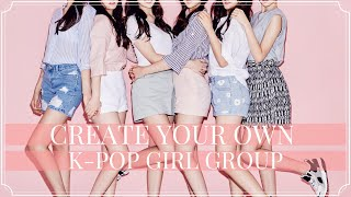 Create Your Own K-pop Girl Group #2