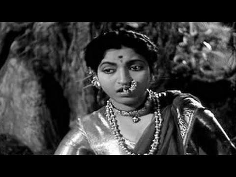 Latpat Latpat Tujha Chaalan Ga - Lata Mangeshkar - AMAR BHOOPALI - Lalita Pawar, Sandhya
