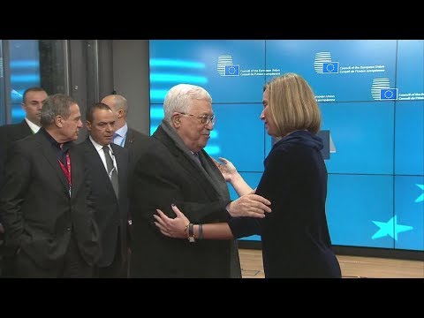 Abbas calls on EU states to recognize state of Palestine