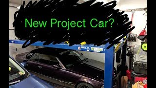 homepage tile video photo for I Bought Another PROJECT CAR!!! (Garage Update)