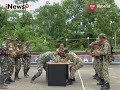 Kekompakan TNI dengan Tentara Malaysia Saat Menjaga Perbatasan Part 02 - Indonesia Border 14/08