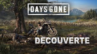 DAYS GONE PS4 decouverte d'un super jeux !