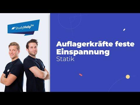 Kochrezept bei Aufgaben zum Biegebalken [Technische Mechanik] |StudyHelp from YouTube · Duration:  11 minutes 24 seconds