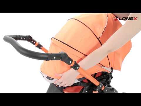 Lonex Sport - видео обзор детской коляски Лонекс Спорт