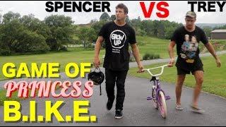 Game of Princess BIKE: Trey Jones Vs. Spencer Foresman