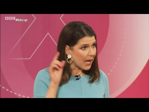 video: Jo Swinson savaged by Leavers and Remainers for Lib Dems' Brexit policy during Question Time Leaders Special