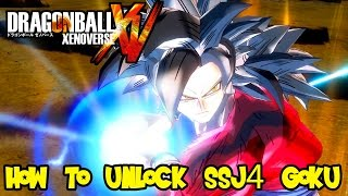Dragon Ball Xenoverse: How To Unlock Super Saiyan 4 Goku The Fastest & Easiest Way