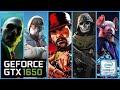 Gambar cover GTX 1650 + i7 9750h   5 GAME TEST   ASUS ROG STRIX G   Max Settings   1080p