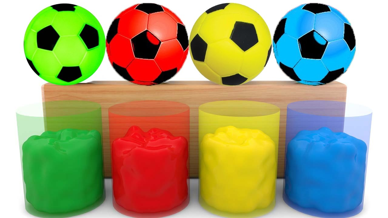 - Colors For Children Learn With Color Soccer Balls Color Soccer