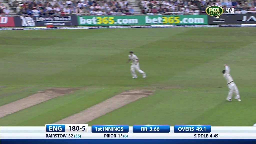 First Ashes Test, Day One Highlights