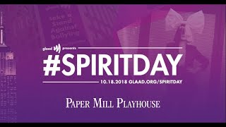 Paper Mill Playhouse and The Color Purple, Spirit Day 2018
