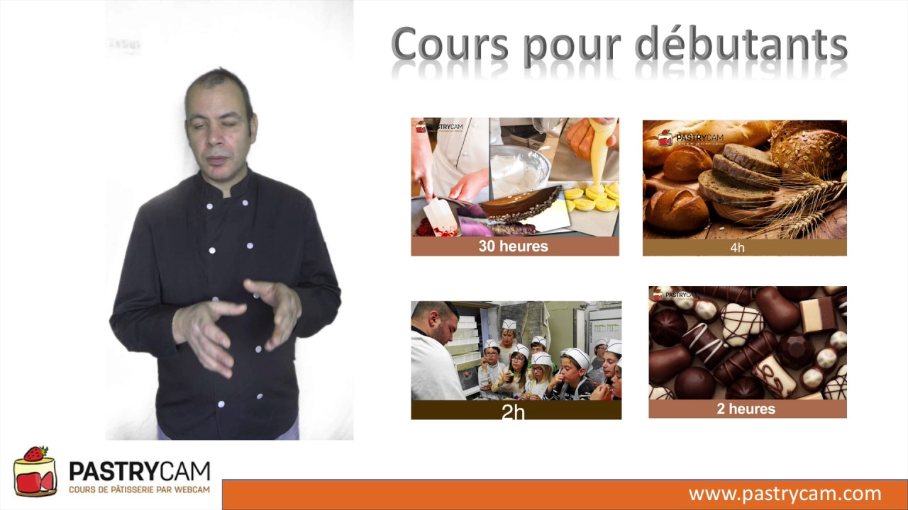 Cours De Pâtisserie Pour Débutants Sur Pastrycam YouTube - Cours de cuisine orientale paris