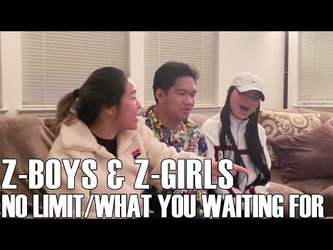 Z-Boys & Z-Girls - No Limit/ What You Waiting For (Reaction Video)