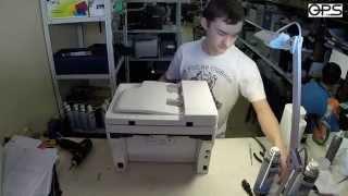 Разборка Xerox WorkCentre 3045 для того чтобы почистить драм часть