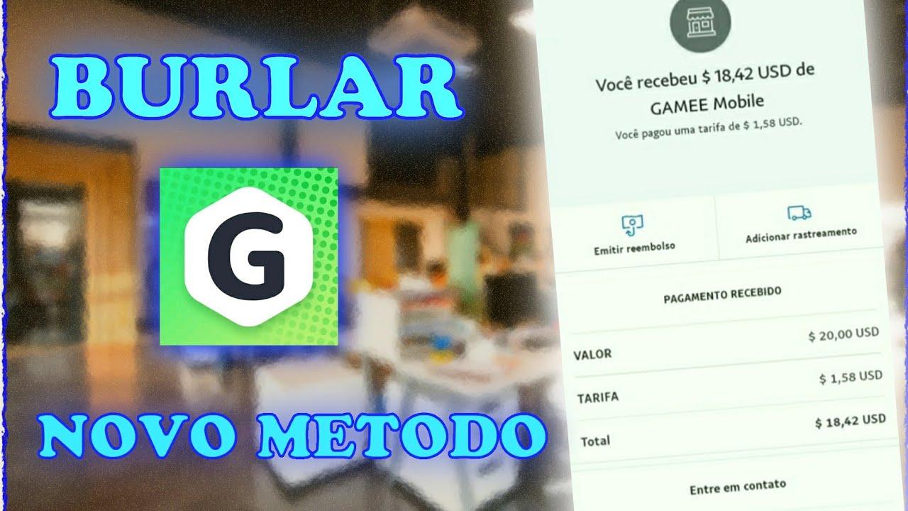 GAMEE - Novo Metodo | Como Burlar o App Games 10 Dólares Hoje