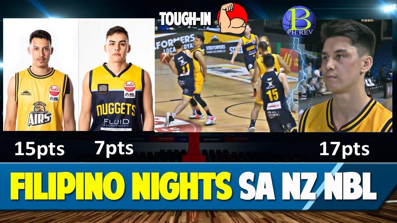 Laro ng NZ NBL para sa mga Pinoy | Nagpasiklab sina Francis Mulvihill , Richie Roger at Ken Tuffin