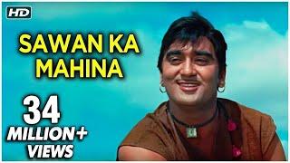 Sawan Ka Mahina Pawan Kare Sor - Milan - Mukesh & Lata Mangeshkar - Laxmikant Pyarelal Hit Songs
