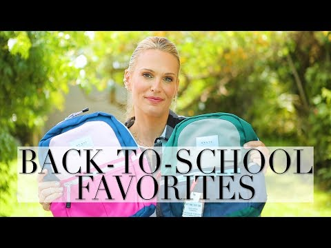 Back to School Favorites: Mabel's Labels, Back Packs, and More!