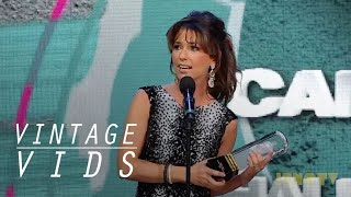 Vintage Vids: Shania Twain Inducted into The Canadian Music Hall of Fame  | JUNO TV