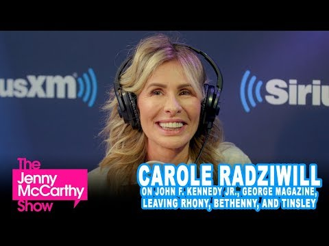 Carole Radziwill on JFK Jr., Leaving RHONY, Bethenny, Tinsley, and More