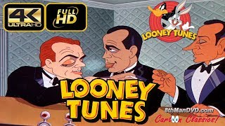 LOONEY TUNES Looney Toons Hollywood Steps Out 1941 Remastered Ultra HD 4K