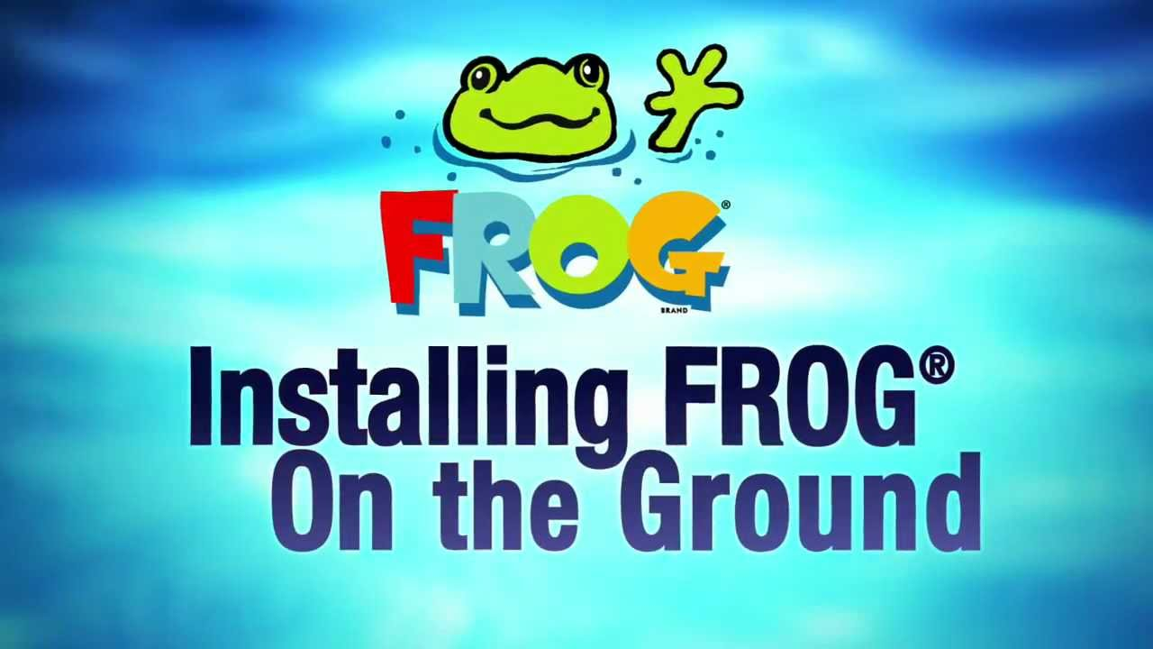 Installing Frog On Above Ground Pools Youtube