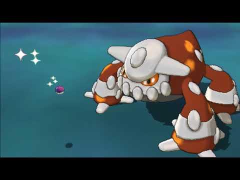 Pokemon Ultra Sun & Ultra Moon : Capturing Heatran