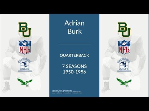 Adrian Burk: Football Quarterback