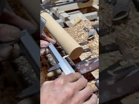 """Oddly satisfying video """"Wood Crafting"""""""
