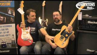 Fender Squier Classic Vibe 50's Telecaster & Stratocaster Guitars