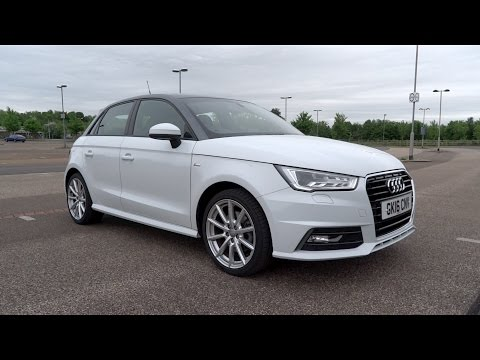 2016 Audi A1 Sportback 1.4 TFSI 125 S line Start-Up and Full