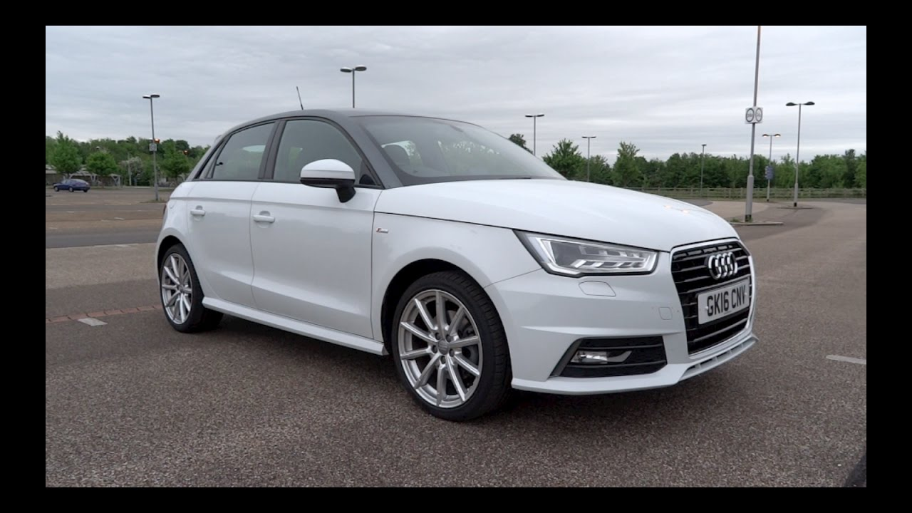 2016 audi a1 sportback 1 4 tfsi 125 s line start up and full vehicle tour youtube. Black Bedroom Furniture Sets. Home Design Ideas