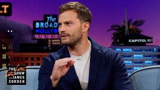 Jamie Dornan Used to Live with 'Desperate' Eddie Redmayne