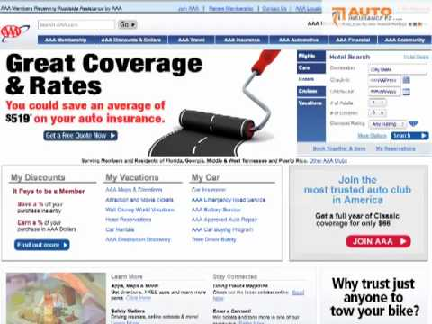 AAA Insurance Review, Quotes, Discounts