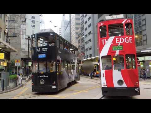 香港2階建てトラム Hong Kong Tramways