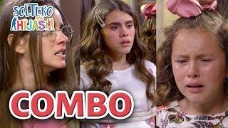 Soltero con hijas - C-55: ¡Masha y Calamal secuestran a las hermanas Paz! | Las Estrellas