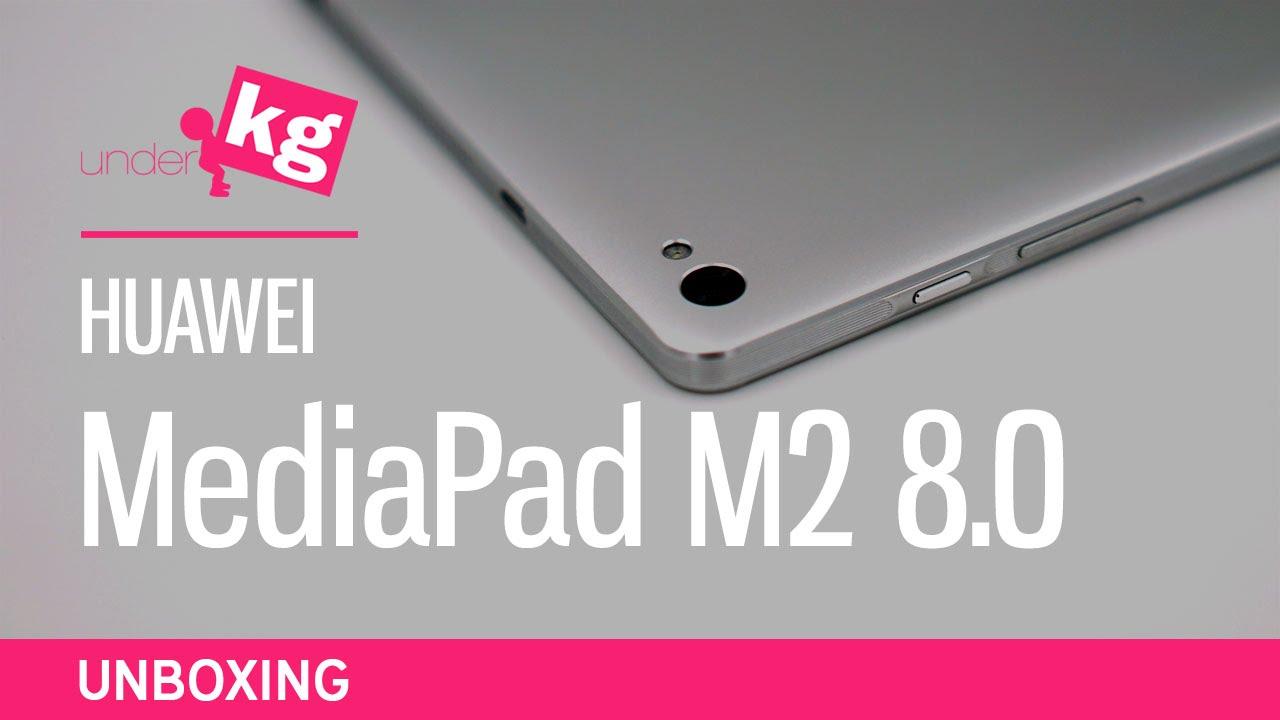 Huawei MediaPad M2 8.0 Unboxing