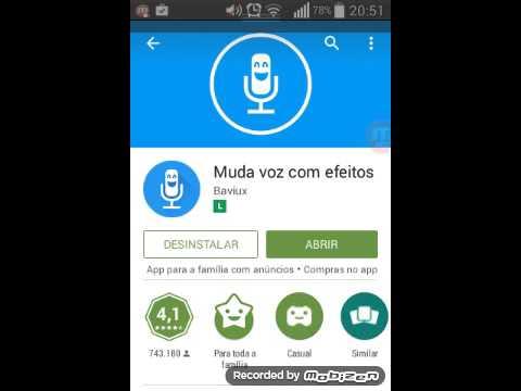 Aplicativo que muda a voz do celular e como baixa-lo de graça