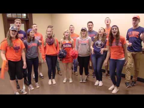 Oskee-Wow-Wow (University of Illinois Fight Song) - No Comment A Cappella