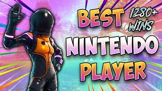 Best Fortnite Nintendo Switch Player/ Solos and Duos With Members / 1280 Wins