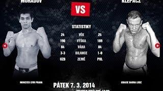 MMAA ARENA 3 - Fight Makhmud Muradov vs. Krzysztof Klepacz
